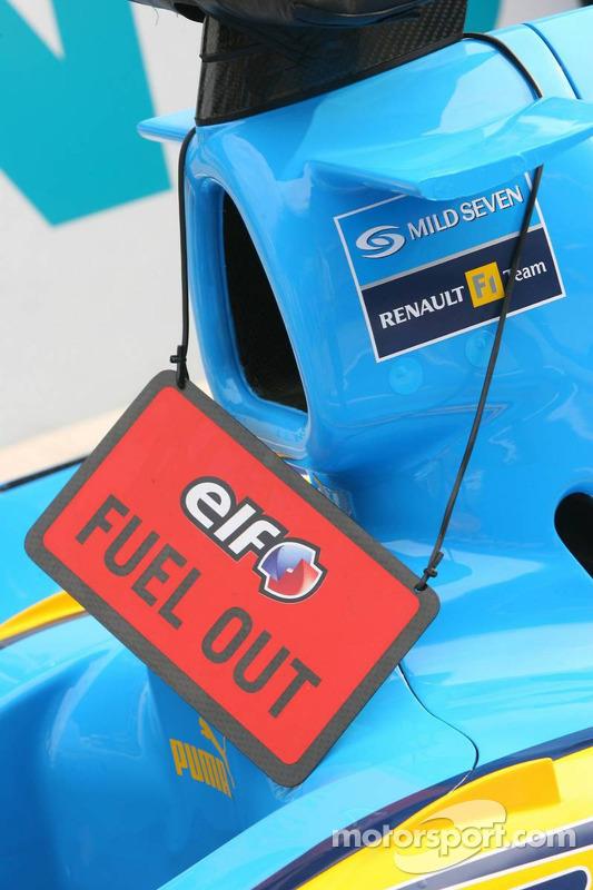 Pas d'essence dans la Renault