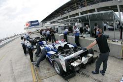 Dyson Racing Team pit area