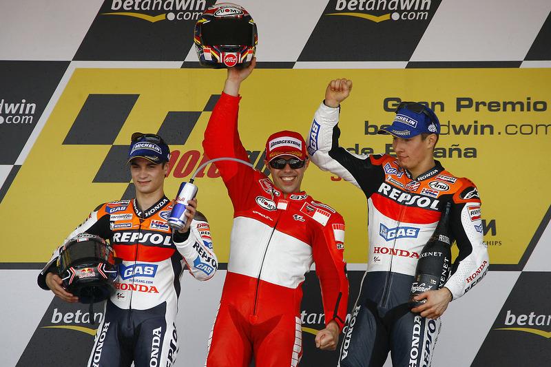 2006: Гран Прі Іспанії, друге місце у перший сезон MotoGP