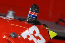 Detail of the Fortuna Honda of Marco Melandri