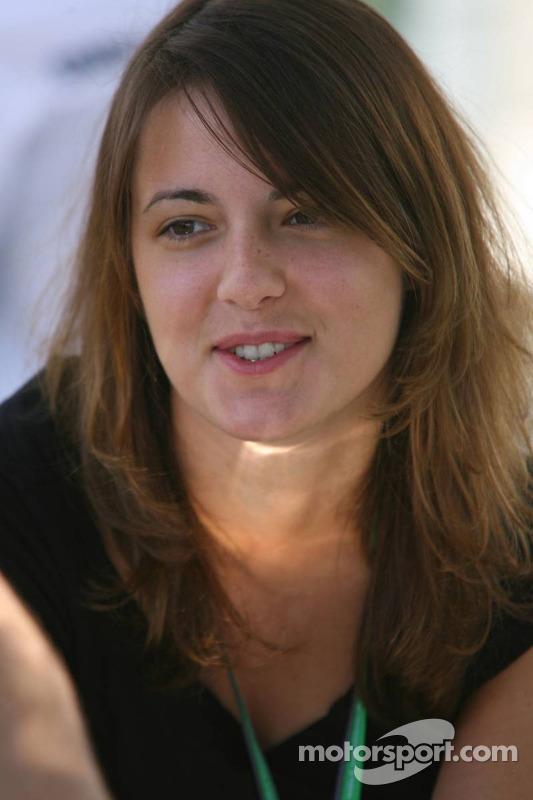 La nouvelle petite-amie de Jacque Villeneuve Johanna