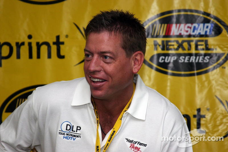 Troy Aikman dans le Hall of Fame Racing