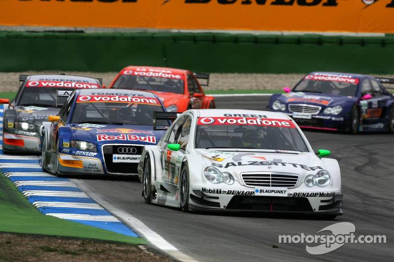 Jamie Green rétrogradé au fond de la grille après un problème moteur en début de course