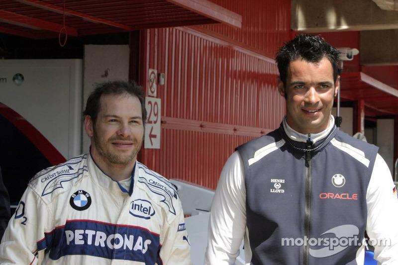 Jacques Villeneuve and Tony Kolb