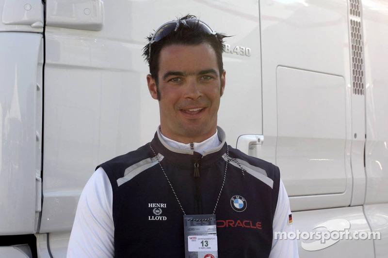 Tony Kolb, marin de l'équipe BMW Oracle Team