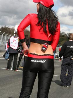 Avon Tyres girl