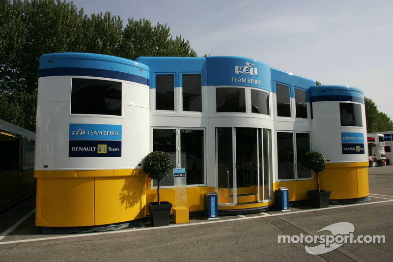 La zone d'hospitalité de Renault