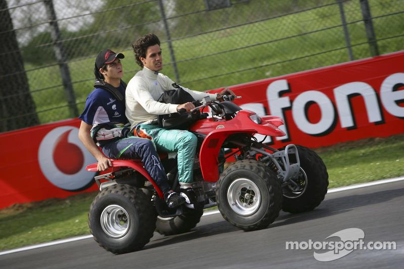 Alexandre Negrao et Nelson A. Piquet