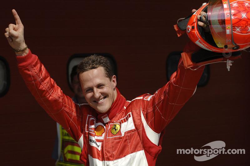 2º Michael Schumacher (40 victorias desde la pole) (el 58'82 % de sus victorias)