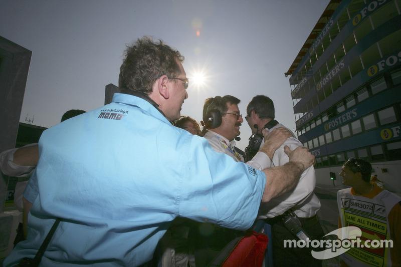 L'équipe Trident Racing fête sa première victoire en GP2