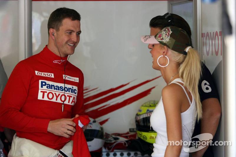 Ralf Schumacher et sa femme Cora Schumacher
