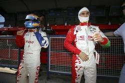 Franck Perera and Ferdinando Monfardini prepare