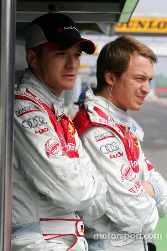 Timo Scheider et Frank Stippler