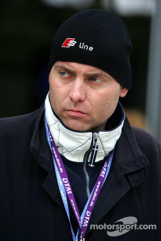 Roger Peters, manager de Olivier Tielemans
