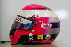Photoshoot: helmet of Franck Montagny