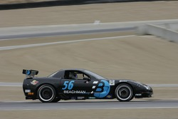 #56 Beachman Racing Corvette: Bruce Beachman, Rick Delamare