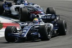 Mark Webber and Nico Rosberg