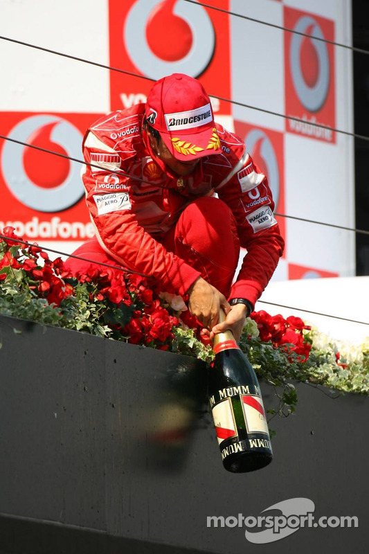 Podium: Felipe Massa