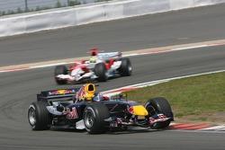 Christian Klien leads Ralf Schumacher