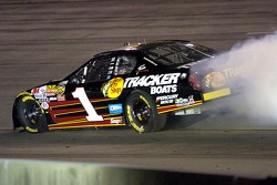 Martin Truex Jr.'s engine goes away