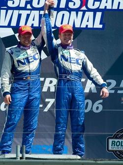GT winners Robin Liddell and Wolf Henzler