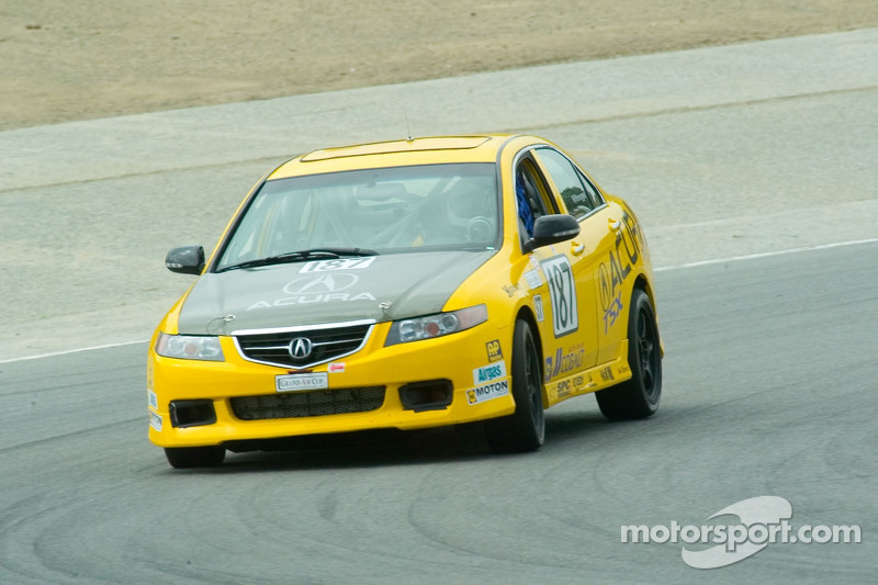 #187 i-MOTO Racing Acura TSX: Lee Niffenegger, Tom Long