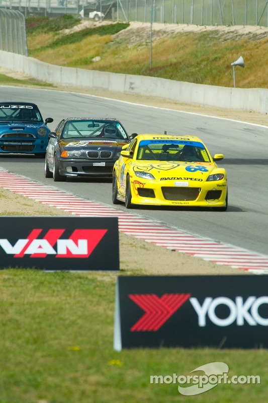 #68 SpeedSource Mazda RX-8: Scott Schlesinger, Ken Dobson