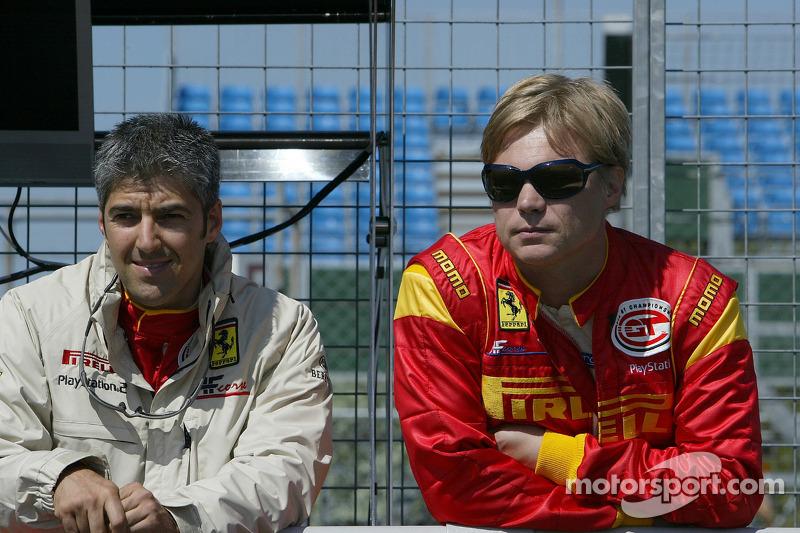Rui Aguas et Mika Salo