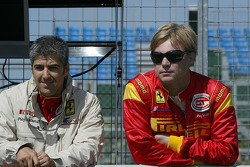 Rui Aguas and Mika Salo
