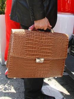 The briefcase of Michael Schumacher