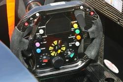 Steering wheel of Jenson Button