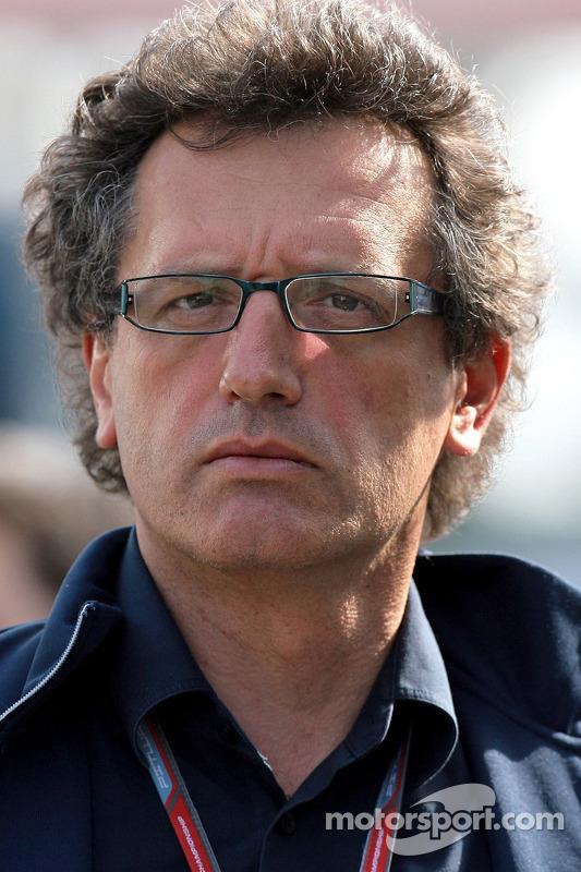 Le directeur technique Gabriele Tredozi