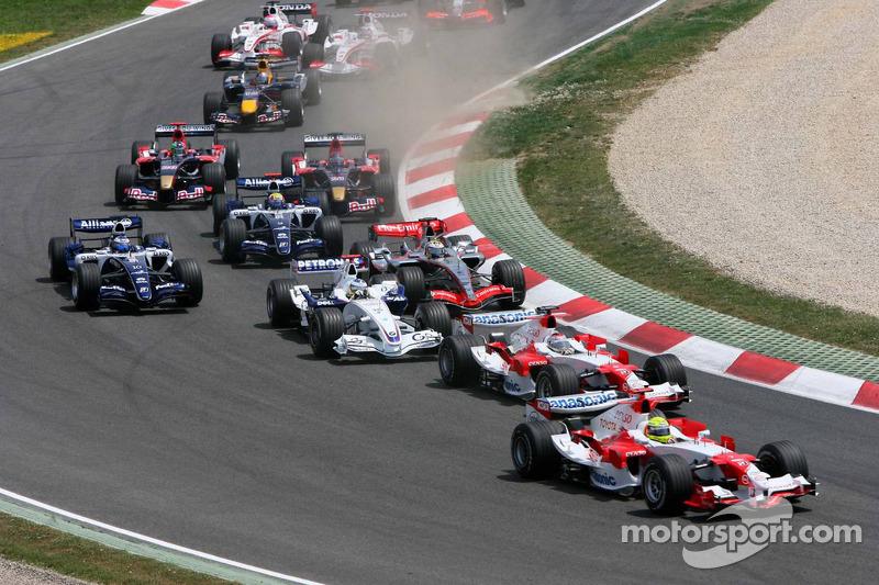 Départ: Ralf Schumacher