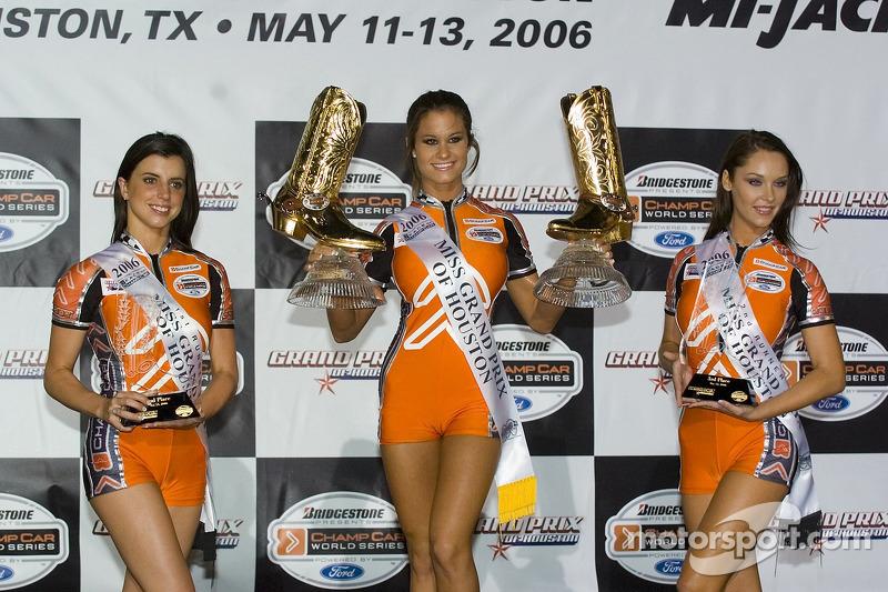 Podium: les jolies jeunes femmes de Champ Car