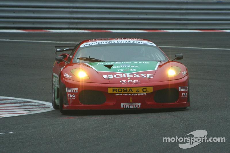 #97 GPC Sport SRL Ferrari F430 GT: Luca Drudi, Gabrio Rosa, Jaime Melo