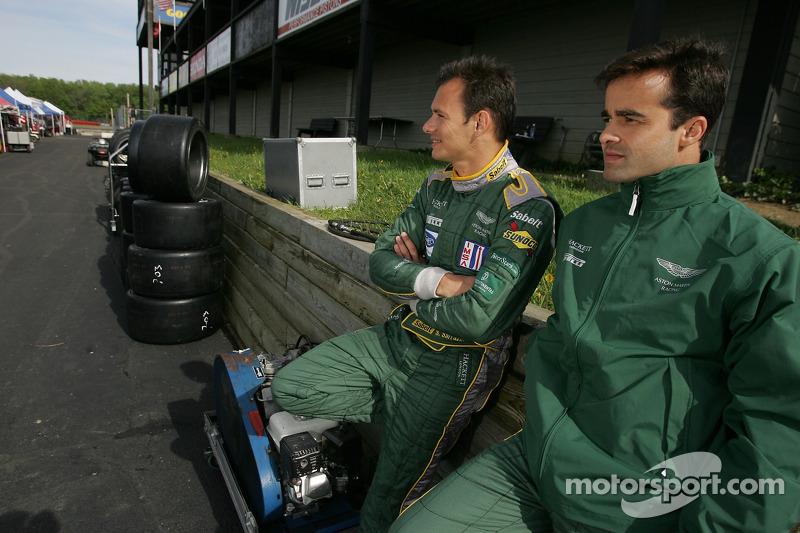 Stéphane Sarrazin et Pedro Lamy