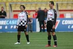 Charity football match: Michael Schumacher and Felipe Massa