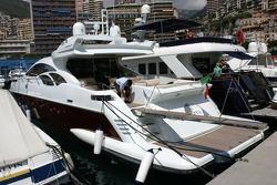 Boat in the Monaco Harbour