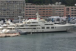 Boats in the Monaco Harbour