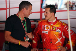Lance Armstrong and Michael Schumacher