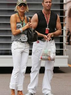 Kai Ebel and his girlfriend