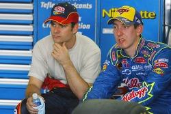 Jeff Gordon and Kyle Busch