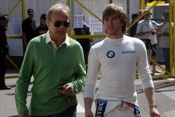 Werner Heinz and Nick Heidfeld