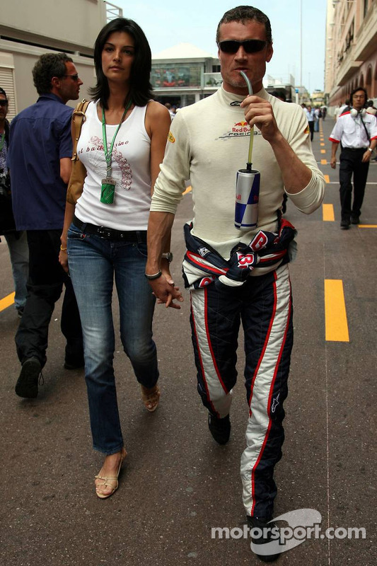 David Coulthard et sa petite amie Caren Minier