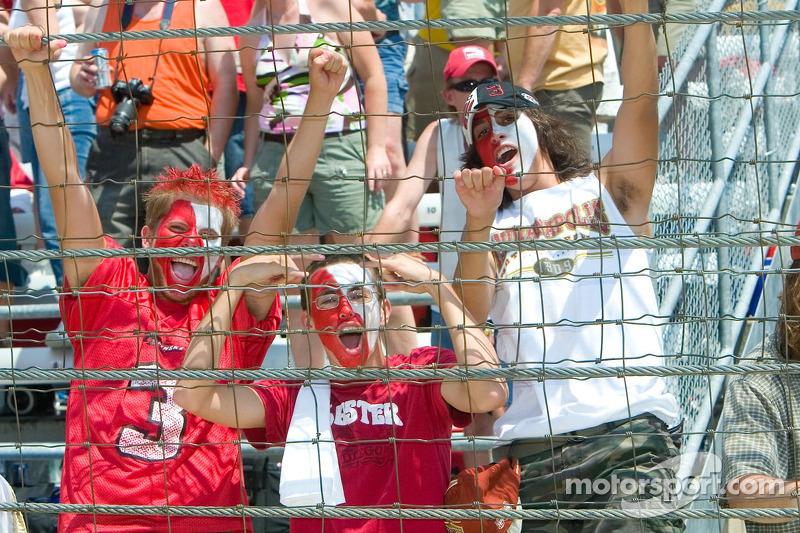 Challenge arrêt au stand: des fans Indy 500