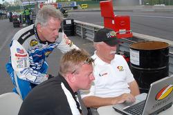 Ricky Rudd, Garth Finley and Price Cobb