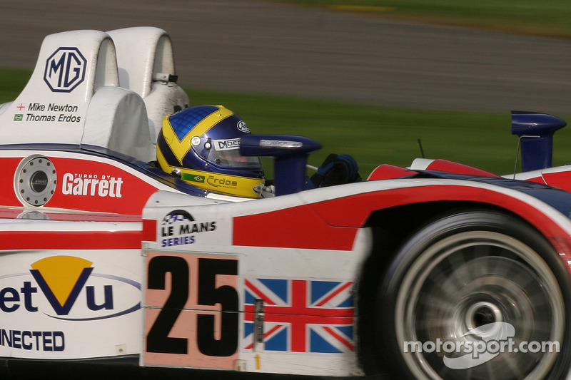 #25 Rml MG Lola EX264: Thomas Erdos