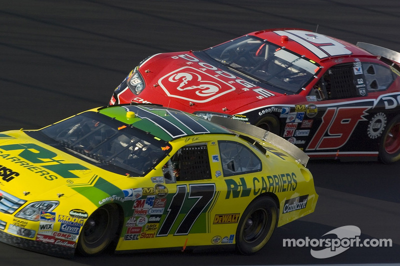 Matt Kenseth et Jeremy Mayfield