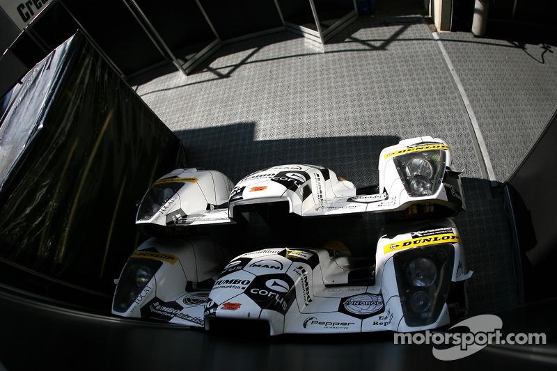 Arière de la carosserie de la Racing for Holland Dome Mugen