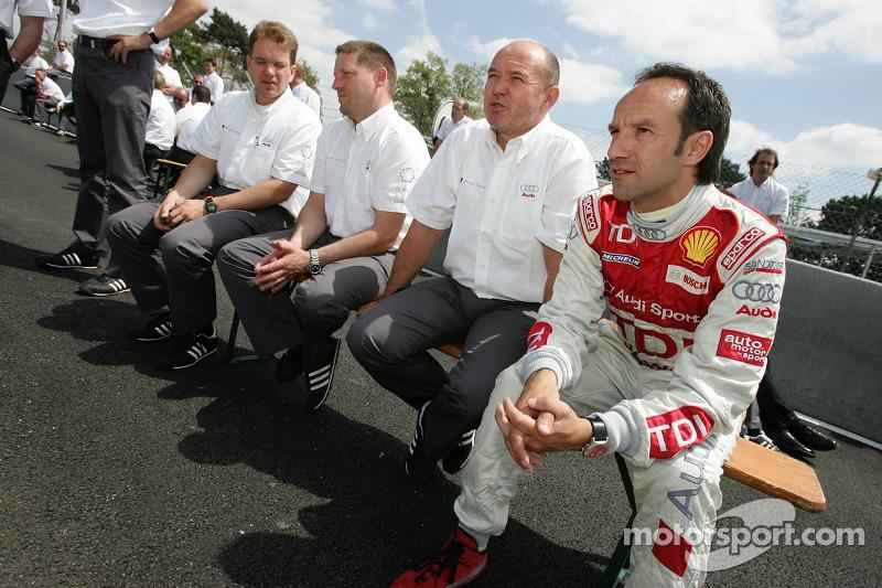 Séance photos de Audi Sport Team Joest: Marco Werner